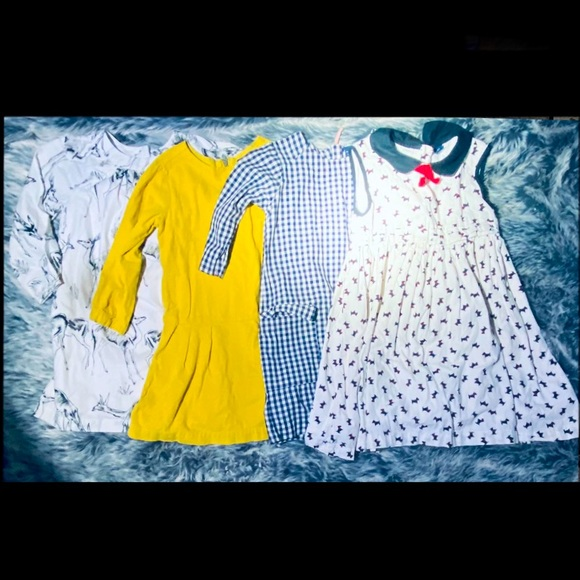 Size 5 Toddler Bundle Of Dresses